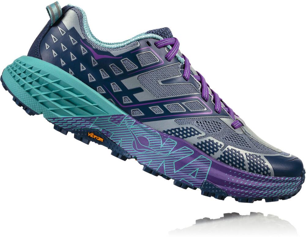Hoka One One Speedgoat 2 - Zapatillas running Mujer - violeta/Azul petróleo US 6,5